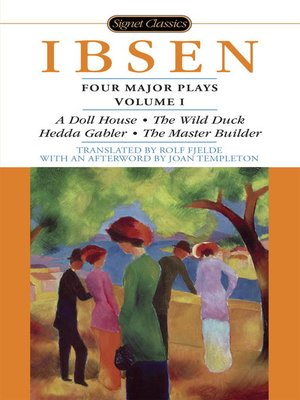 cover image of Four Major Plays, Volume I