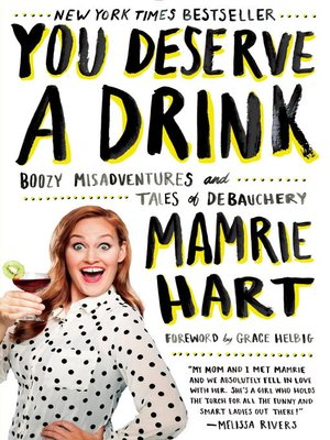 cover image of You Deserve a Drink