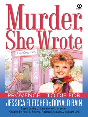 cover image of Provence - To Die For
