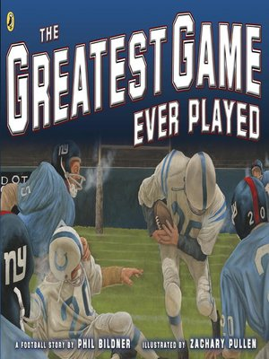 cover image of The Greatest Game Ever Played