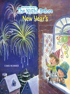cover image of The Night Before New Year's