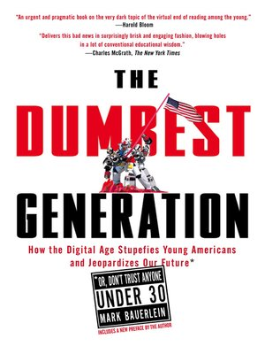 cover image of The Dumbest Generation
