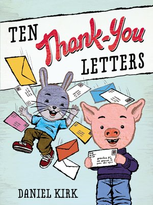 cover image of Ten Thank-You Letters