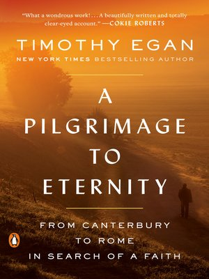 cover image of A Pilgrimage to Eternity