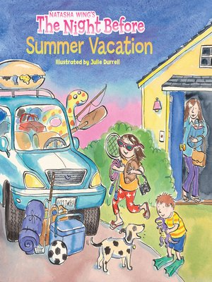 cover image of The Night Before Summer Vacation