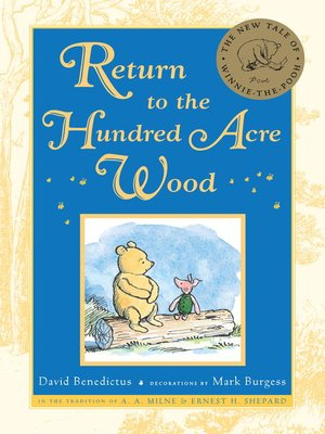cover image of Return to the Hundred Acre Wood