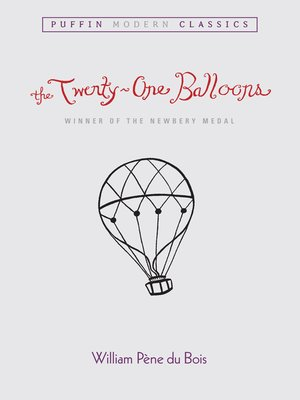 cover image of The Twenty-One Balloons PMC