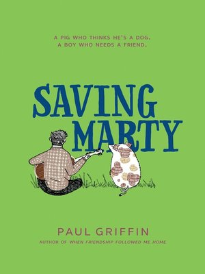 cover image of Saving Marty