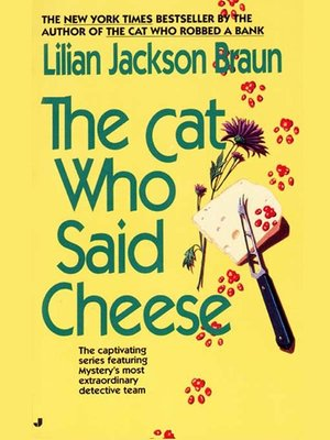 cover image of The Cat Who Said Cheese