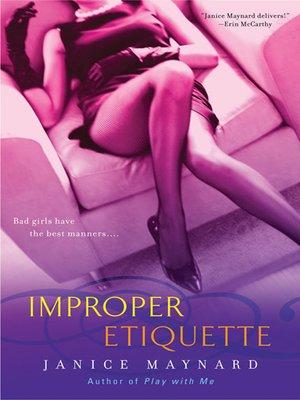 cover image of Improper Etiquette