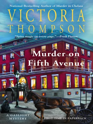 cover image of Murder on Fifth Avenue