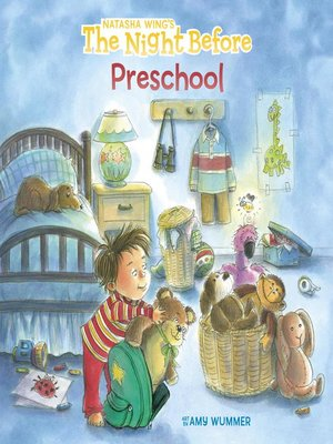 cover image of The Night Before Preschool