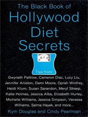 cover image of The Black Book of Hollywood Diet Secrets