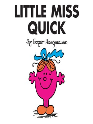 cover image of Little Miss Quick