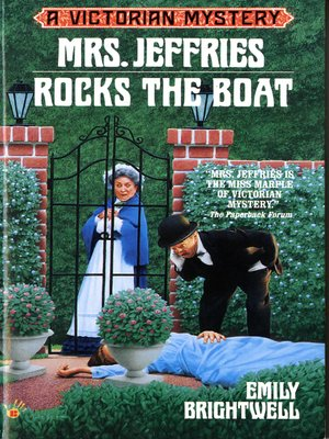 cover image of Mrs. Jeffries Rocks the Boat