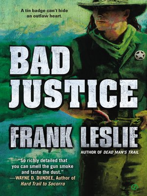cover image of Bad Justice