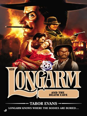 cover image of Longarm #428--Longarm and the Death Cave