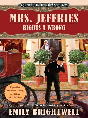 cover image of Mrs. Jeffries Rights a Wrong