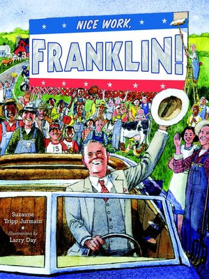 cover image of Nice Work, Franklin!