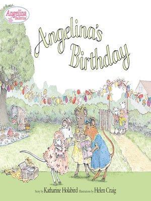 cover image of Angelina's Birthday