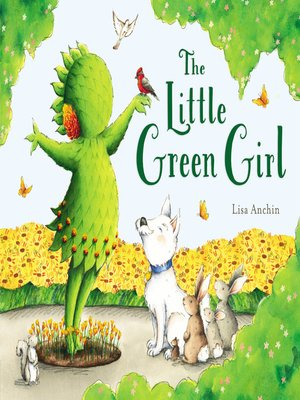 cover image of The Little Green Girl