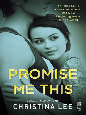 cover image of Promise Me This