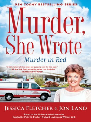 cover image of Murder, She Wrote--Murder in Red