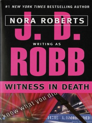cover image of Witness in Death