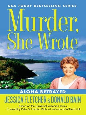 cover image of Aloha Betrayed