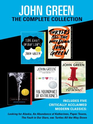 cover image of John Green, The Complete Collection