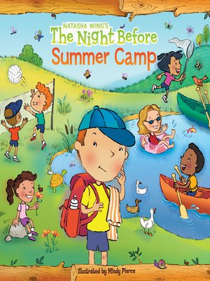 cover image of The Night Before Summer Camp