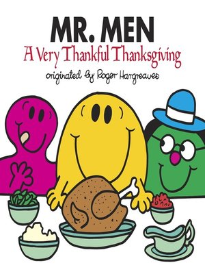 cover image of Mr. Men--A Very Thankful Thanksgiving