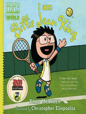 cover image of I am Billie Jean King