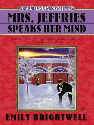 cover image of Mrs. Jeffries Speaks Her Mind
