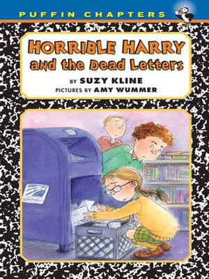 cover image of Horrible Harry and the Dead Letters