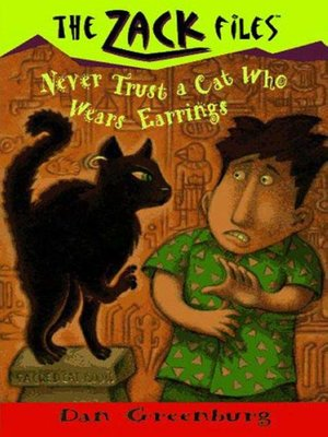 cover image of Never Trust a Cat Who Wears Earrings