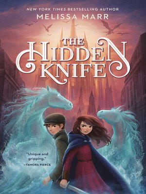 cover image of The Hidden Knife