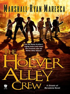 cover image of The Holver Alley Crew