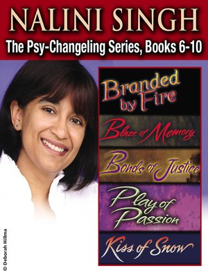 cover image of The Psy-Changeling Series, Books 6-10