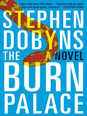 cover image of The Burn Palace