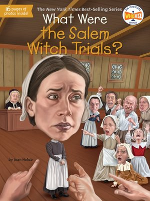 cover image of What Were the Salem Witch Trials?