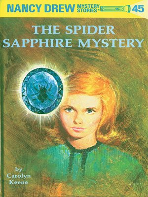 cover image of The Spider Sapphire Mystery