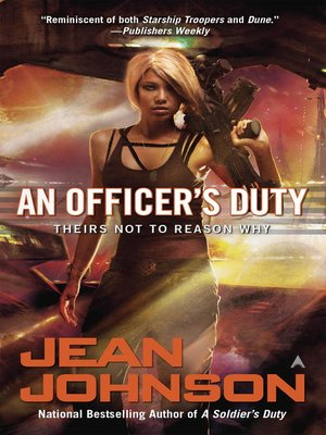 cover image of An Officer's Duty