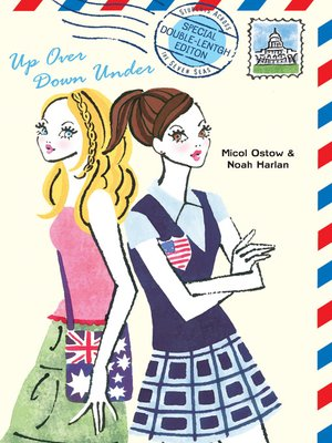 cover image of Up Over Down Under