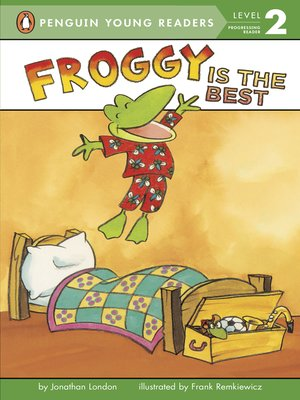 cover image of Froggy Is the Best