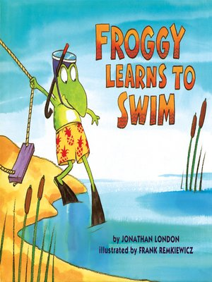 cover image of Froggy Learns to Swim