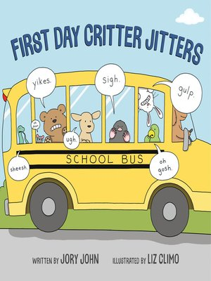 cover image of First Day Critter Jitters