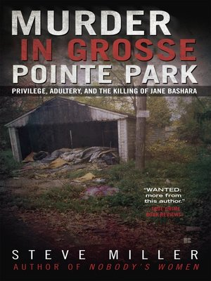 cover image of Murder in Grosse Pointe Park