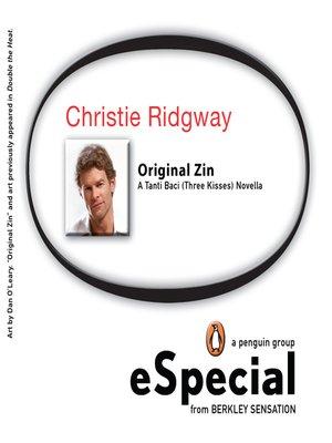 cover image of Original Zin