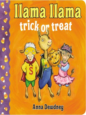 cover image of Llama Llama Trick or Treat